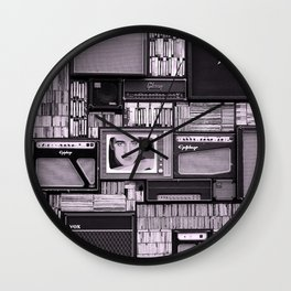 KING OF ROCK IV Wall Clock