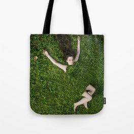 Green Mareen Tote Bag
