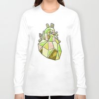 anatomical heart Long Sleeve T-shirts featuring Anatomical Heart by Jonny Ashcroft