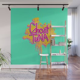 Ghost Tuna Wall Mural