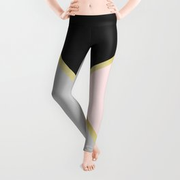 Gold Modern Art IX Leggings