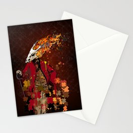 The Burning Trooper Stationery Cards