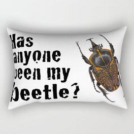 Beetle Search Rectangular Pillow