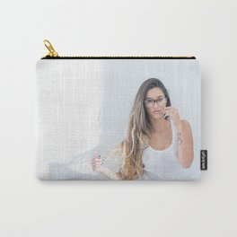 sexy Brazilian babe Carry-All Pouch