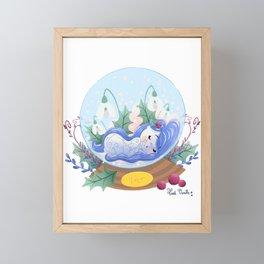 Miss Hiver Framed Mini Art Print