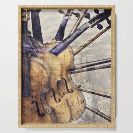 Classic Violins Serving Tray