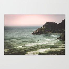 Pacific Northwest Grandeur - Heceda Lighthouse Canvas Print