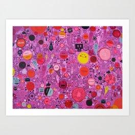 My Ruby World Art Print