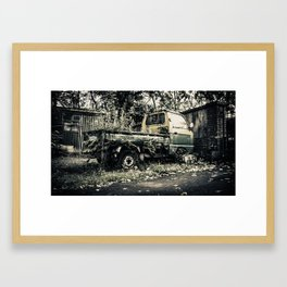 Urban decay…. or Dead Mechanic  Framed Art Print