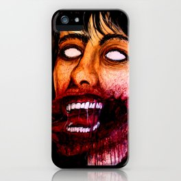 Just a scratch iPhone Case