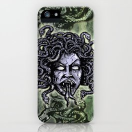 Medusa Gorgon iPhone Case