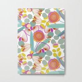 Australian Flora  #society6 #floral Metal Print