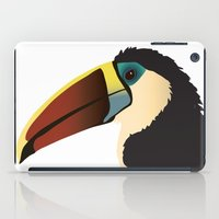 toucan iPad Cases featuring Toucan by Frida Strömshed