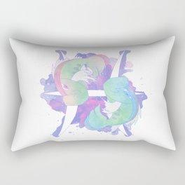 Pkmn Zodiac - Pisces Rectangular Pillow