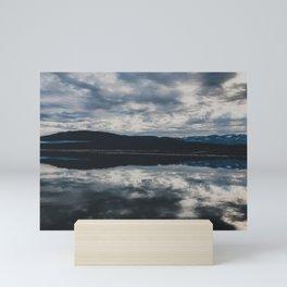 Cold Early Morning, Shaver Lake, CA Mini Art Print