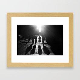 The Four Shadows Framed Art Print