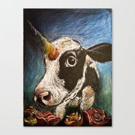 Unicow Canvas Print