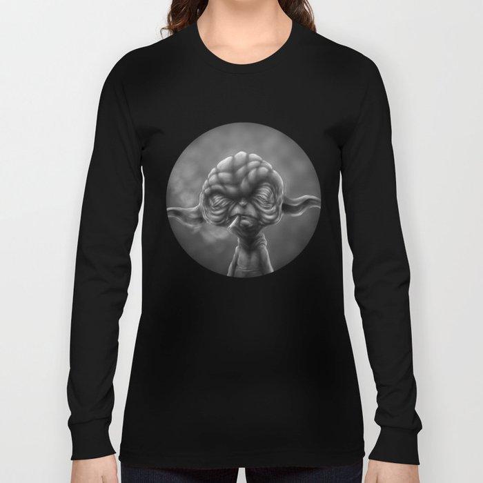 Noir Yoda Long Sleeve T-shirt