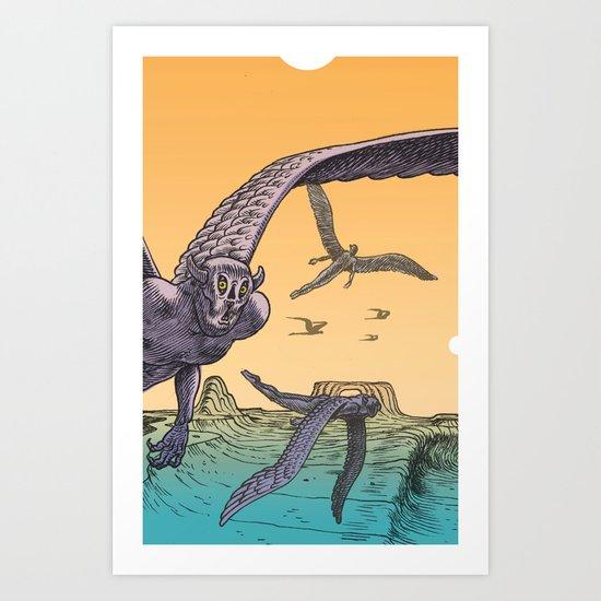 The Lippons Art Print