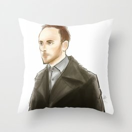 elementary: the deductionist Throw Pillow