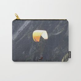Parachute in Chamonix Carry-All Pouch
