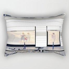 boutique coco paris and bicycle Rectangular Pillow