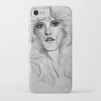 stevie nicks iPhone & iPod Cases featuring Stevie by Art by Klaudia
