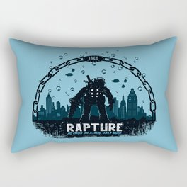 Rapture 1960 Rectangular Pillow