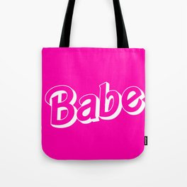 Babe Doll Look Tote Bag
