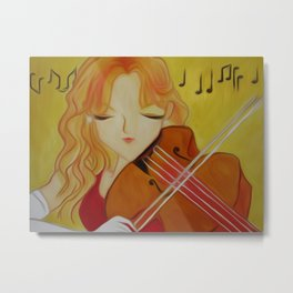 A Song in My Heart Metal Print
