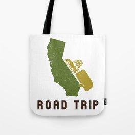 California Camping Road Trip Tote Bag