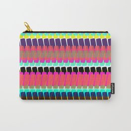 Keep it Moving Stripe Carry-All Pouch
