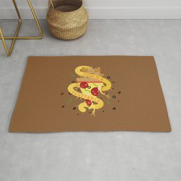 Pizza Is A Vegetable Rug