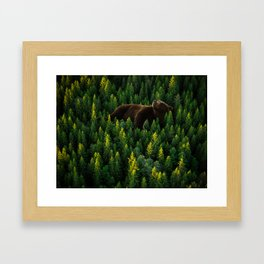 Great Wildlife Framed Art Print