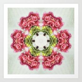 garden bulbs N°2 (pattern/pillow) Art Print