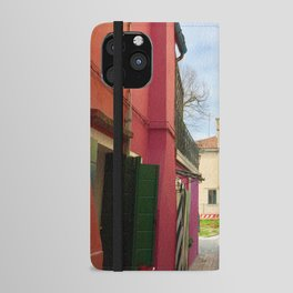 Been There, Shot That (Pt. 7 – Burano, Italy) iPhone Wallet Case