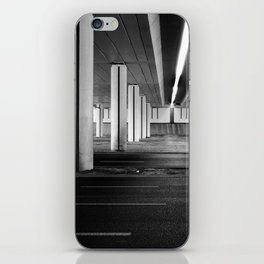 driving you crazy, urban view, city drive in warsaw, poland iPhone Skin