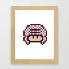 gulfi mushroom Framed Art Print