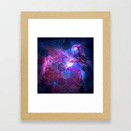 Orion Honeycomb Framed Art Print