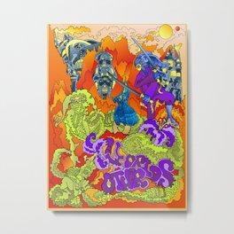 Other Worlds: Under Siege Metal Print