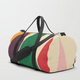 solar mountain #homedecor #midcentury Duffle Bag