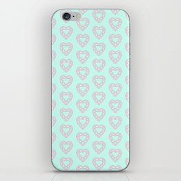 Happy Heart Gems iPhone Skin