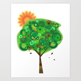Be Like A Tree Art Print
