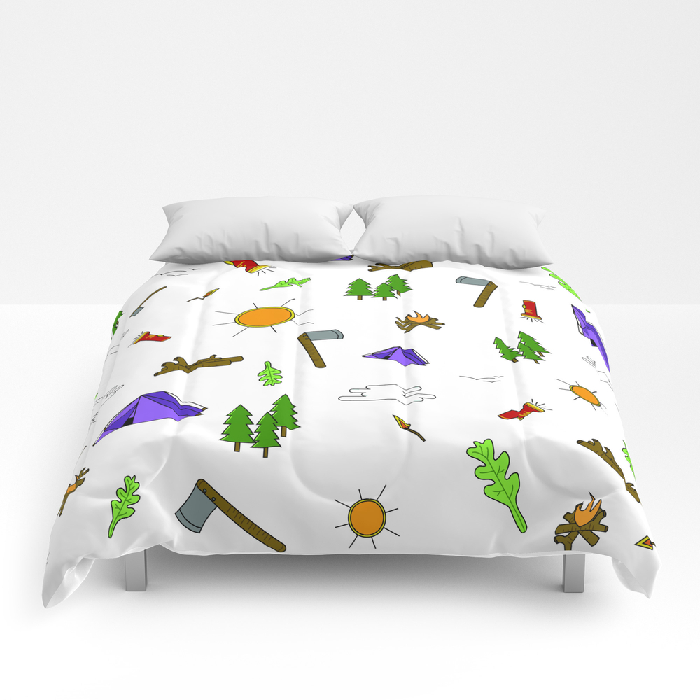 Lake Life_color Comforter by Wiebedesigning CMF8344286