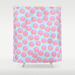 Bubblegum Pop - Sweet Pastel Shower Curtain