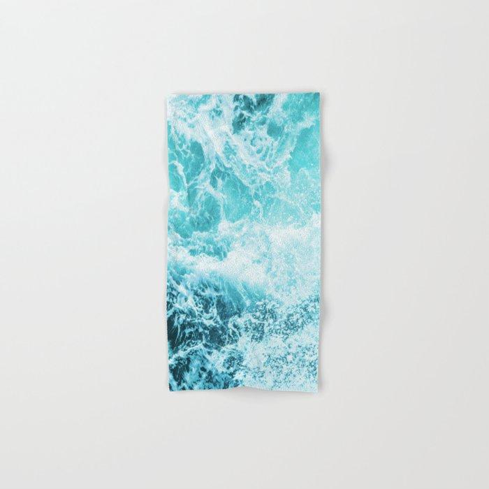 Perfect Sea Waves Hand & Bath Towel
