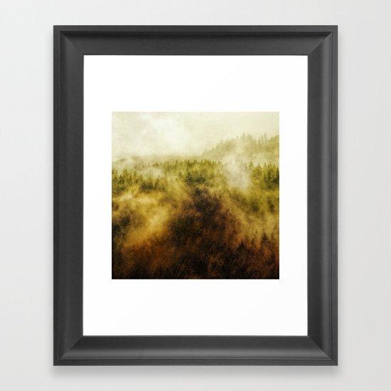 Recently Framed Art Print
