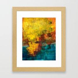 sun strokes Framed Art Print