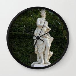 Goddess of the Garden Wall Clock