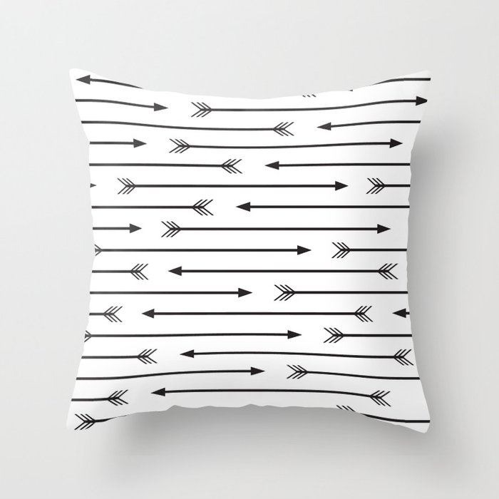 Arrows  Throw Pillow